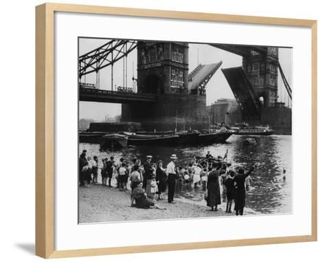 Tower Bridge--Framed Art Print