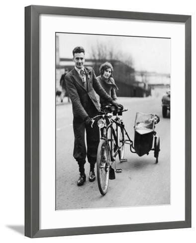 Family Cycle--Framed Art Print