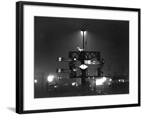 Signal Check--Framed Art Print