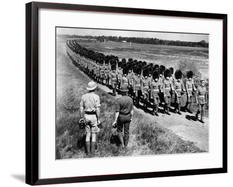 Scots Guards--Framed Art Print