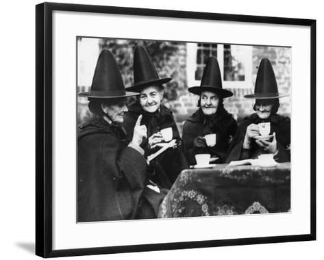 Jacobean Tea--Framed Art Print