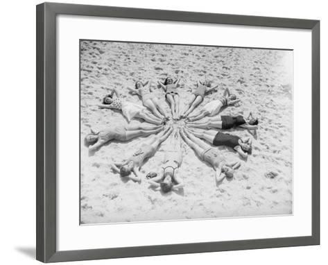 Star Bathers--Framed Art Print