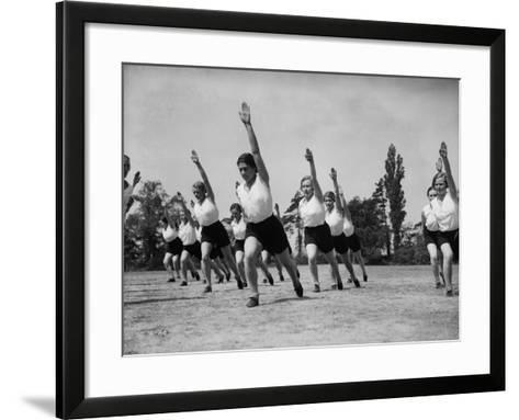 Outdoor Fitness--Framed Art Print