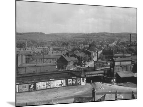 Macclesfield--Mounted Photographic Print