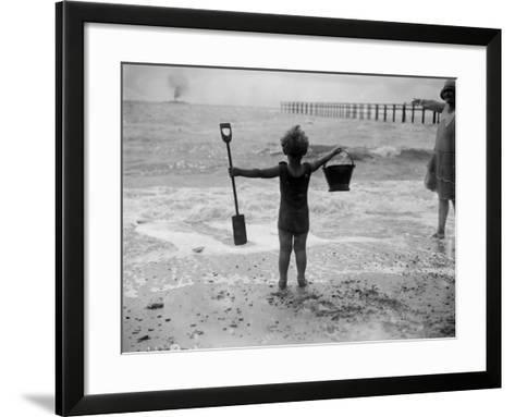 Young Canute--Framed Art Print