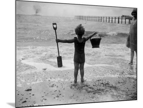 Young Canute--Mounted Photographic Print