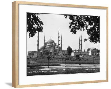 Blue Mosque--Framed Art Print