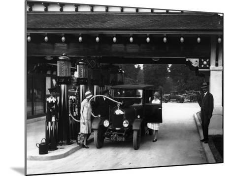 Garage Chic--Mounted Photographic Print