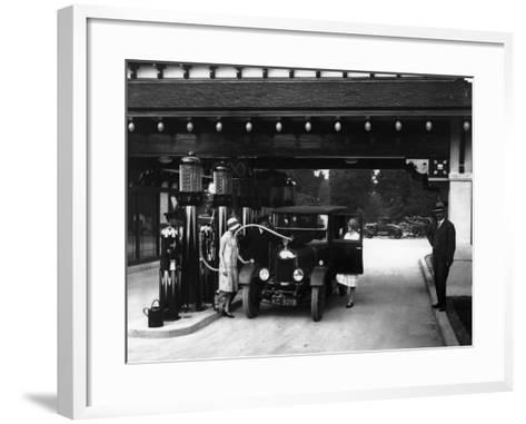 Garage Chic--Framed Art Print