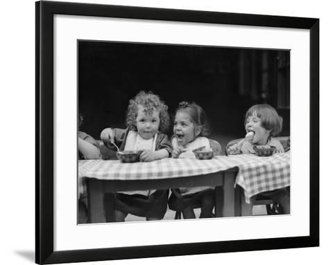 Lunchtime--Framed Art Print