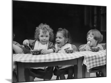 Lunchtime--Mounted Photographic Print