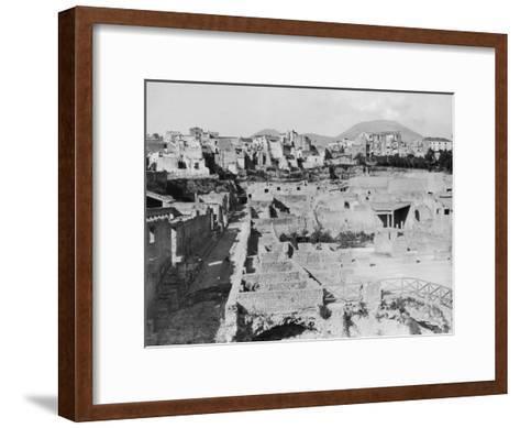 Herculaneum--Framed Art Print