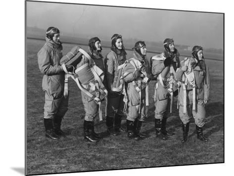 Ata Pilots--Mounted Photographic Print