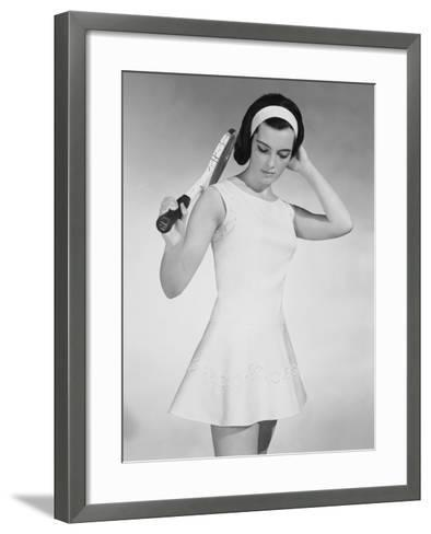 Tennis Dress-Chaloner Woods-Framed Art Print