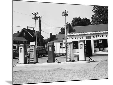 Urban Gas Station-George Marks-Mounted Photographic Print