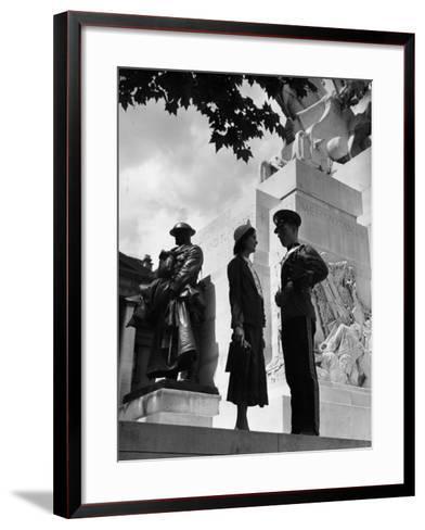 Quo Vadis?-Chaloner Woods-Framed Art Print