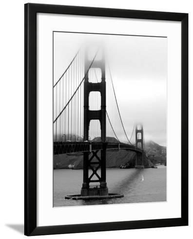 Golden Gate Bridge-Federica Gentile-Framed Art Print