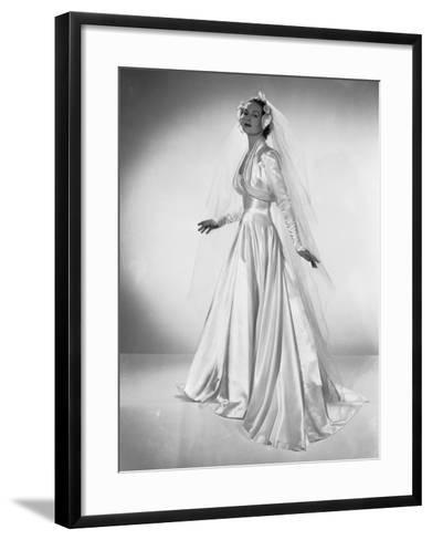 White Wedding-Chaloner Woods-Framed Art Print