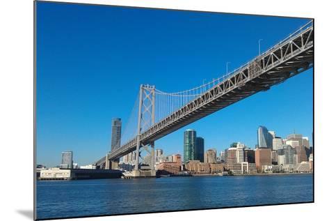 Sailing under the Bay Bridge-Malinda B Shishido-Mounted Photographic Print