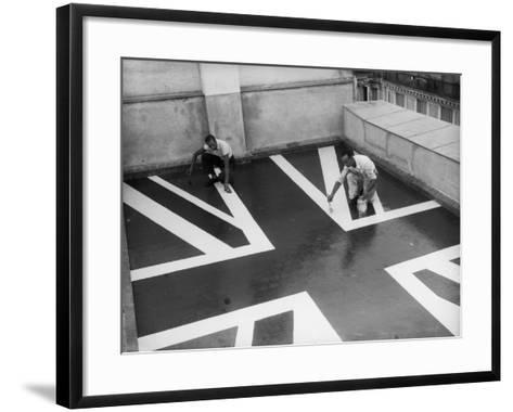 Union Flag--Framed Art Print