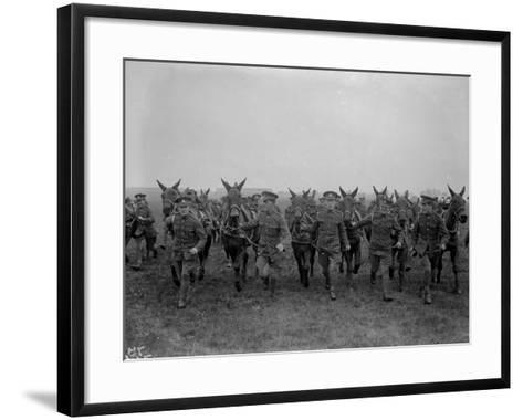 Army Mules--Framed Art Print