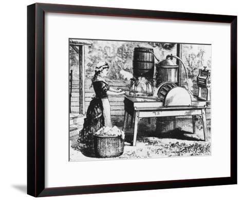Early Washing Machine-Chaloner Woods-Framed Art Print