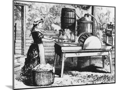 Early Washing Machine-Chaloner Woods-Mounted Photographic Print