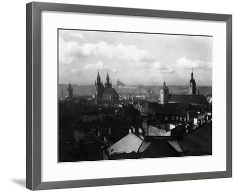 Prague--Framed Art Print