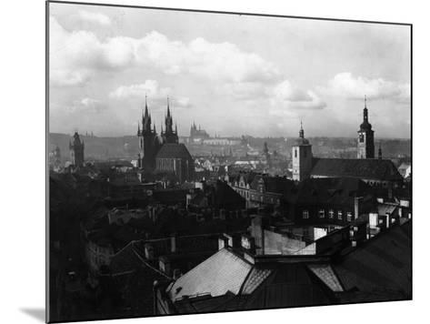 Prague--Mounted Photographic Print