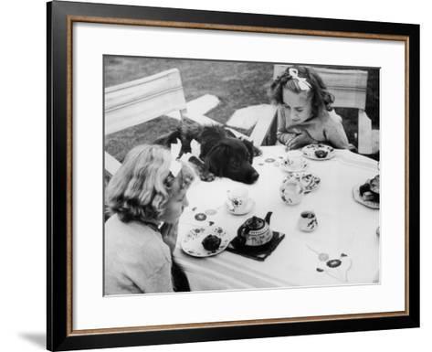 Tea Party--Framed Art Print