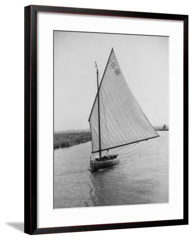 Sailboat--Framed Art Print