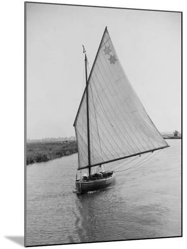 Sailboat--Mounted Photographic Print