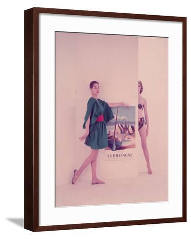 Come To Brittany-Chaloner Woods-Framed Art Print