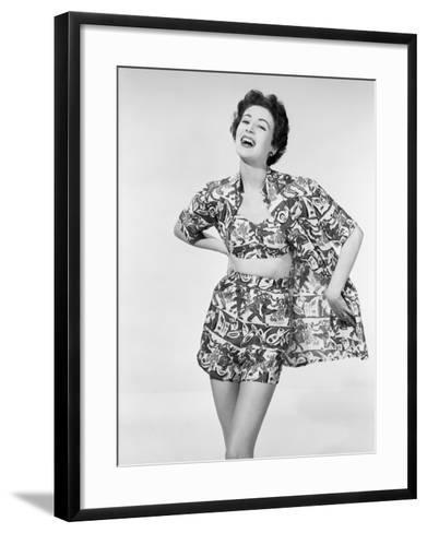Fun Summer Fashion-Chaloner Woods-Framed Art Print