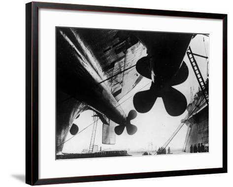 Ships's Propellers--Framed Art Print