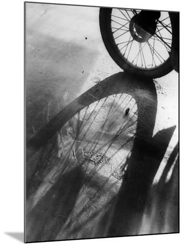 Shadow Wheel--Mounted Photographic Print