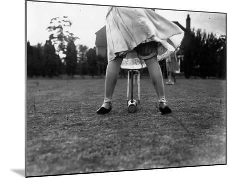 Croquet--Mounted Photographic Print