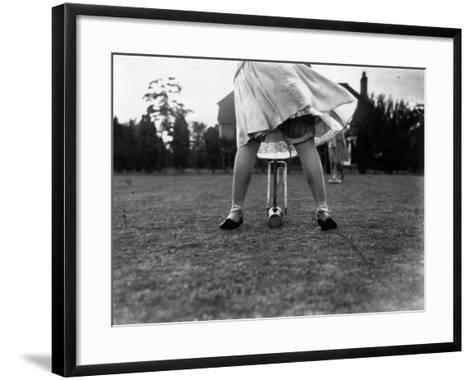 Croquet--Framed Art Print