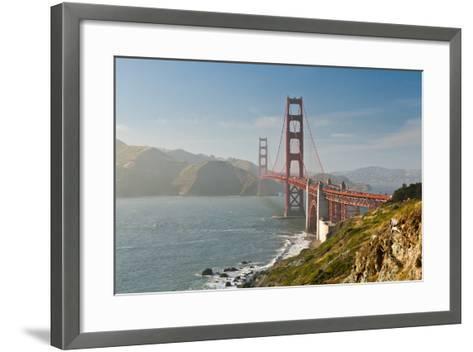 Golden Gate Bridge-Ian Morrison-Framed Art Print