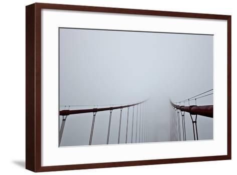 Golden Gate Bridge, San Francsico, California-Tuan Tran-Framed Art Print