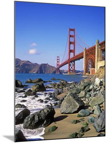 Golden Gate Bridge, San Francisco, California-Hans Peter Merten-Mounted Photographic Print
