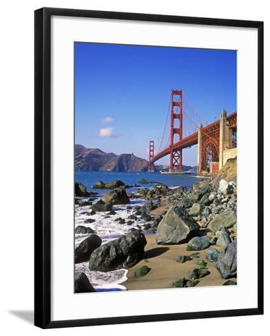 Golden Gate Bridge, San Francisco, California-Hans Peter Merten-Framed Art Print