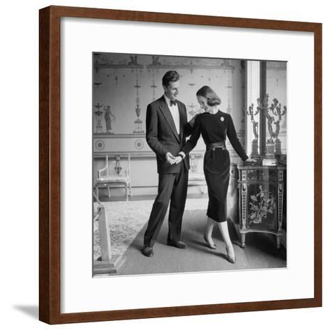 A Perfect Match-Chaloner Woods-Framed Art Print