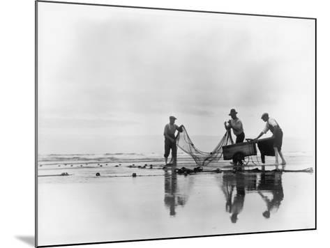Fishing Nets-Chaloner Woods-Mounted Photographic Print