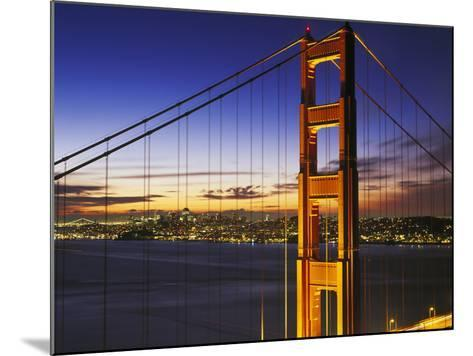 Golden Gate Bridge at Dawn-Brian Lawrence-Mounted Photographic Print