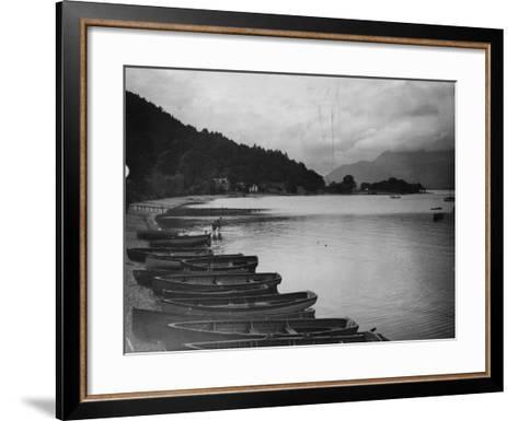 Loch Lomond--Framed Art Print