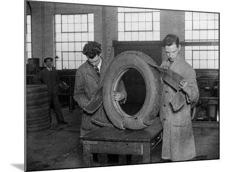 Tyre Test--Mounted Photographic Print