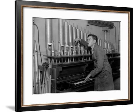 Organ Tuner--Framed Art Print