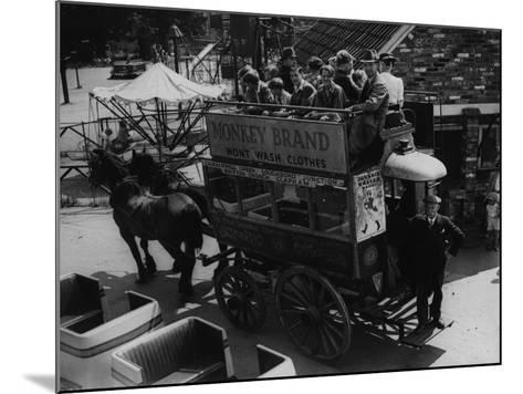 A Horse Bus--Mounted Photographic Print