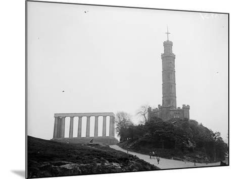 Calton Hill--Mounted Photographic Print